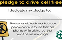 Safety Challenge: Pledge to Drive Cell Free