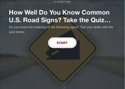 How Well Do You Know Common U.S. Road Signs?